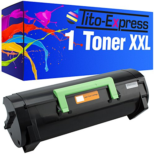 Tito-Express PlatinumSerie 1 Toner XXL kompatibel mit Lexmark MS-310 MS310D MS310DN MS312DN MS315DN MS410D MS410DN MS510DN MS610DE MS610DN MS610DTE MS610DTN | 50F2H00 Black 5.000 Seiten