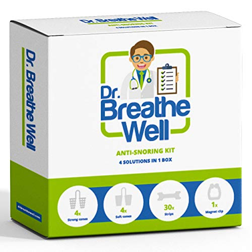 Dr. Breathe Well - Premium Kit di Dilatatore Nasale...