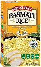 Heritage Select Basmati Rice, Roasted Chicken Flavored & Herbs with Orzo Pasta, 6.5 Ounce (Pack of 6)