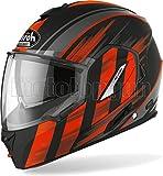 MOTOTOPGUN Airoh RE19IK32 Casco de moto Flip Up naranja mate Rev19 Ikon talla S