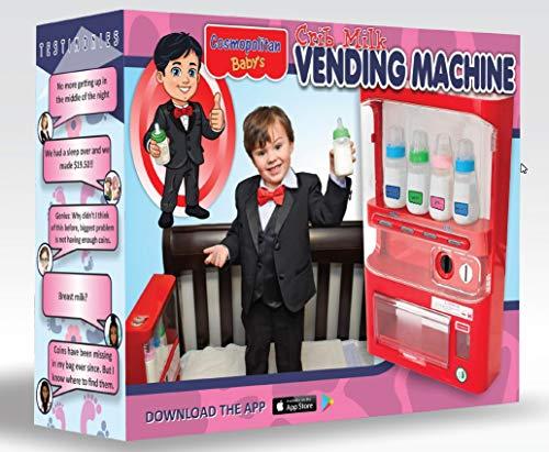 Prank Gift Boxes, Inc. Crib Milk Vending Machine! Prank Box for Adult or Kids! Prank Gift Box/Gag...