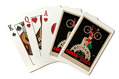 Sardegna - Cossu Vintage Poster Italy c. 1930 (Playing Card Deck - 52 Card Poker Size with Jokers)