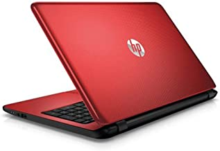HP Laptop PC 15.6in HD BrightView WLED-Backlit Display Intel Pentium N3540 Quad-Core Processor 4GB RAM 500GB Hard Drive HDMI DVD-RW WIFI Windows 10-Red (Renewed)
