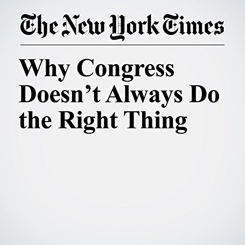 Why Congress Doesn't Always Do the Right Thing copertina