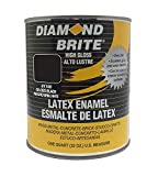Diamond Brite Paint Black 1 Quart 80100 1-Quart Latex...