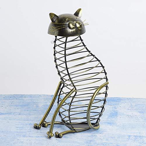 PBOHUZ Contenedor de Corcho - Moda Gato en Forma de Vino Tinto Contenedor de Corcho Tapón de Botella Soporte de Almacenamiento Decoración de Mesa