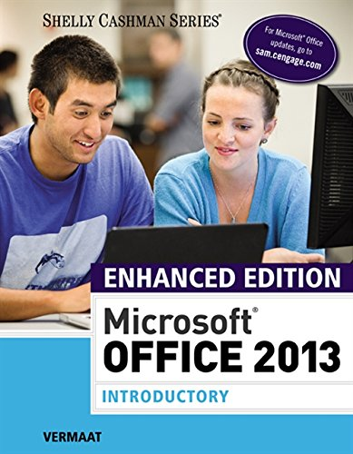 Compare Textbook Prices for Enhanced Microsoft Office 2013: Introductory 1 Edition ISBN 9781305408982 by Vermaat, Misty E.