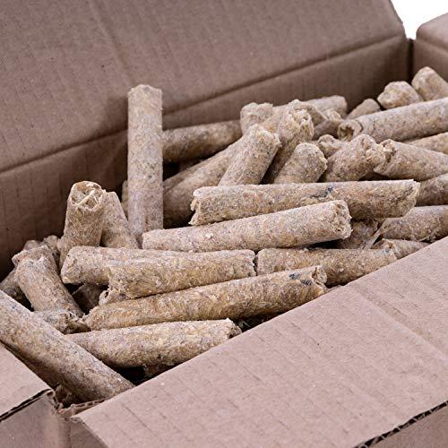 Panorama24 10 kg Anzünder Anzündsticks Feuersticks Ideal für für Grill/Kamin/Ofen - Anzündbrikettsticks Kaminanzünder aus Öko Holz-Wolle und Wachs - schnell und umweltfreundlich