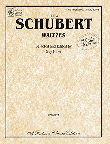 Waltzes (Belwin Classic Library)