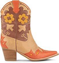 Botas JEFFREY CAMPBELL Looney Orange+Brown