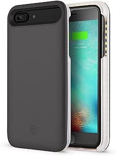 Cutelook New LED Selfie Light Up Illuminated Cell Phone Case for iPhone 8 Plus/iPhone 7 Plus/6 Plus/6S Plus