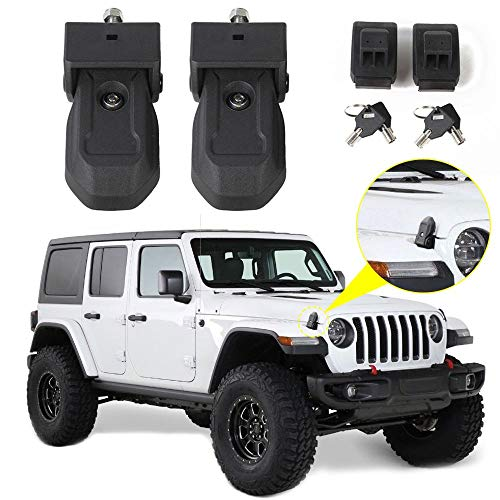 Black JeCar Rear Corner Armor ABS Tail Light Guard for 2018-2020 Jeep Wrangler JL /& Unlimited Sports Rubicon Sahara