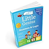 Numbers & Logic: Kindergarten Workbook (Little Genius Series): Teaches Numbers, Numbers in Words, Addition & Subtraction, Time & Money, Patterns, Logic & Mental Ability to Pre-Primary Child (4-6 yrs)(english)