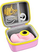 Case for OMZER/ OMWay/ Veroyi/ RegeMoudal/ Hachi's Choice / JLtech Kids Camera Gifts for 4-8 Year Old Girls. Shockproof Storage box fits for Toys Cameras ,USB Cable and microSD card.(Case Only)