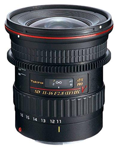 Tokina at-X 11-16/2.8 Pro DX V Objektiv für Nikon schwarz