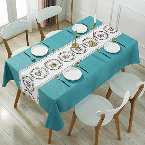 Nice-DoormatsTablecloth waterproof, oil-proof, anti-scalding dining table rectangular tablecloth tea table cloth table mat -Fruit tray_90*150cm