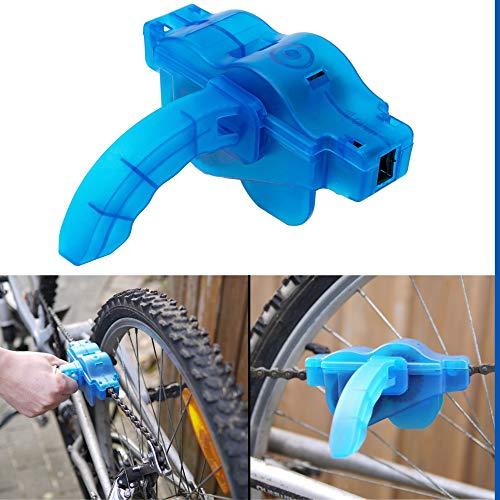 Fahrradkettenreinigungsgert mit Haltegriff, zur regelmigen Pflege der Kettenglieder, fr Mountainbike, Citybike, Trekking Rad, Fahrrad Kettenbrste, Reinigungsbrste, Kettenreinigungsset