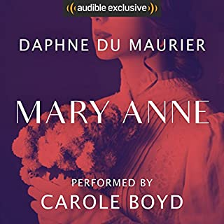 Mary Anne audiobook cover art