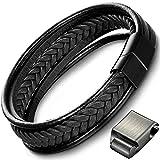 Aotlet armband herren geschenke für männer damen hochzeitstag Lederarmband für