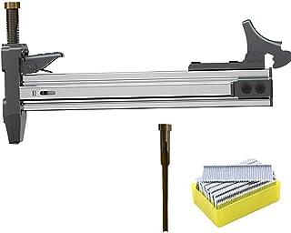 発射ピンとステープル付き手動ステープルガン、スロットネイルガン半自動セメントワイヤースロット釘打ち機、釘打ち機、室内装飾用ステープラーフレーミング釘打機、アンチスマッシングハンド