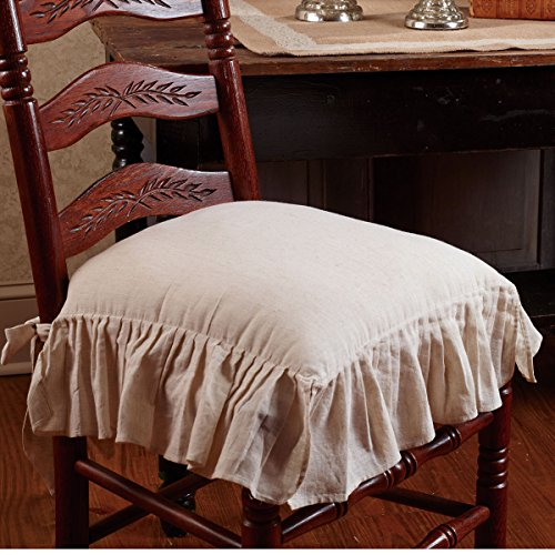 The Country House Collection Flax Ruffled French Country...