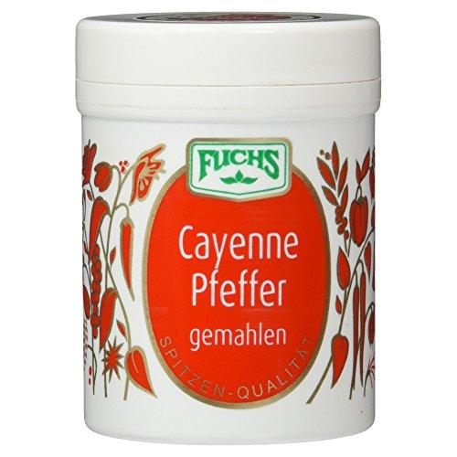 Fuchs Gewürze Cayenne Pfeffer gemahlen, 60g