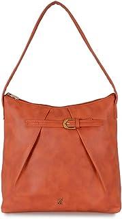 Baggit Women's Shoulder Bag (Orange) (Unitsnits 1)