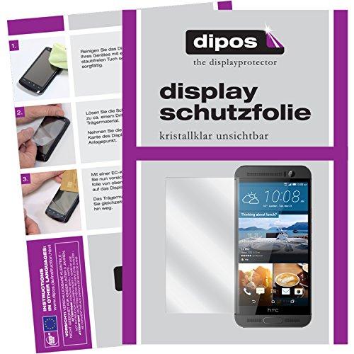 dipos I 6X Schutzfolie klar kompatibel mit HTC One M9 Plus Folie Bildschirmschutzfolie