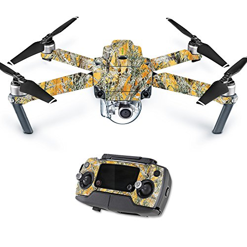 MightySkins Skin Compatible with DJI Mavic Pro Quadcopter Drone - Mc2 Blaze | Protective, Durable, and Unique Vinyl Decal wrap Cover | Easy to Apply, Remove, and Change Styles | Made in The USA