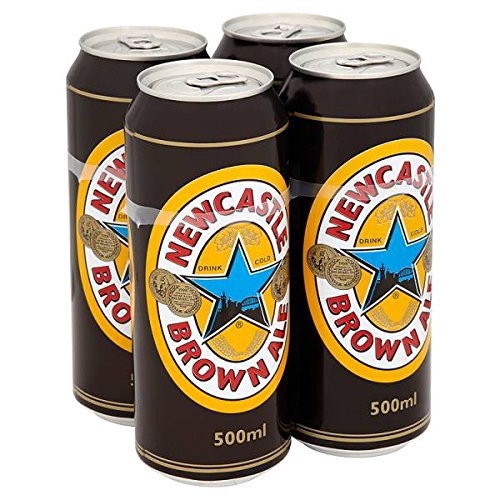 Newcastle Brown Ale 500ml (Packung mit 24 x 500 ml)