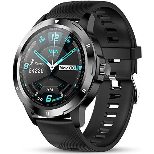 DOOK Smartwatch, Relojes Inteligentes Mujer Hombre, Pulsera Actividad Inteligente Impermeable IP67, Reloj Fitness con Pulsómetro,Calorías, Monitor De Sueño, Podómetro para Android iOS
