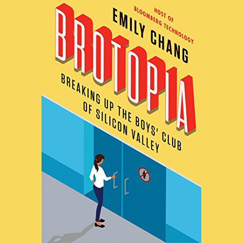 Brotopia audiobook cover art
