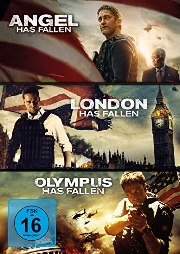 Olympus/London/Angel Has Fallen - Triple Film Collection [3 DVDs]