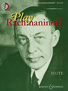 PLAY RACHMANINOFF FLUTE TRAVERSIERE +CD