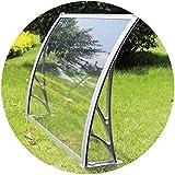 WXQIANG Toldo de la Lluvia de la Puerta del pabellón al Aire Libre Terraza Protector Solar a Prueba de Lluvia Rotura violenta de la Anti-UV de plástico Estante antienvejecimiento fácil de Limpiar