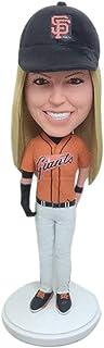 SF Giants Custom Bobble Head SF Giants Figurine personalizzate basate sulla foto dei clienti Regalo fidanzata Regalo di Na...