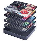Traje Profesional de 180 Colores, núcleo de Cera Suave, Dibujo, Dibujo, sombreado y coloración - 72 Colores