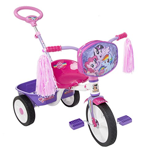 My Little Pony Apache | Triciclo Ride On | para Niñas de 2 a 5 Años | Modelo R12 | Diseño Color Rosa |…