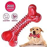 Juguete para perros masticando dientes de juguete interactivos masticando entrenamiento de coeficiente intelectual mordida suave caucho natural cachorros pequeños y medianos