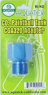 AQUATEK CO2 Paintball Tank Adapter for CGA 320 Standard CO2 Regulator