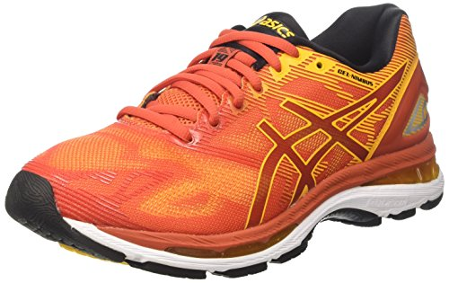 Asics Gel Nimbus 19, Zapatillas de Running Hombre, Rojo (Red Clay/Gold Fusion/Phantom), 41.5 EU