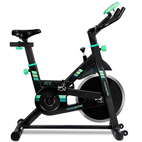 Cecotec Bicicleta Spinning, Volante de inercia de 16 kg y Sistema Silence Fit