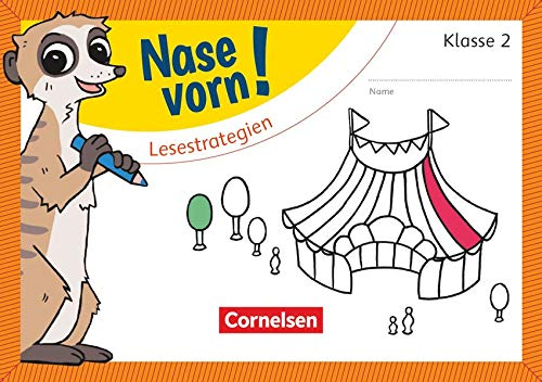 Nase vorn! - Deutsch - Übungshefte - 2. Schuljahr: Lesestrategien - Übungsheft