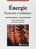 Energie - Economie et politiques