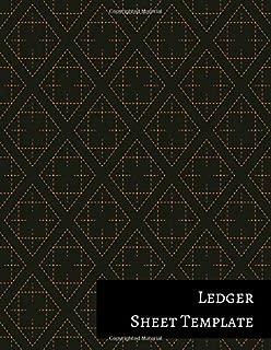 Ledger Sheet Template: 4 Column Columnar
