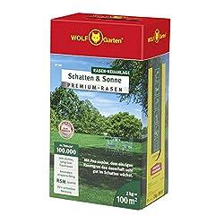 WOLF-Garten - Premium-Rasen »Schatten & Sonne« LP100; 3820040