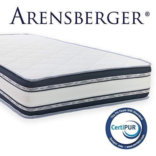 Arensberger  Relaxx 7 Zonen Wellness Matratze mit 3D-Memory Foam, 90cm x 200cm, Höhe...