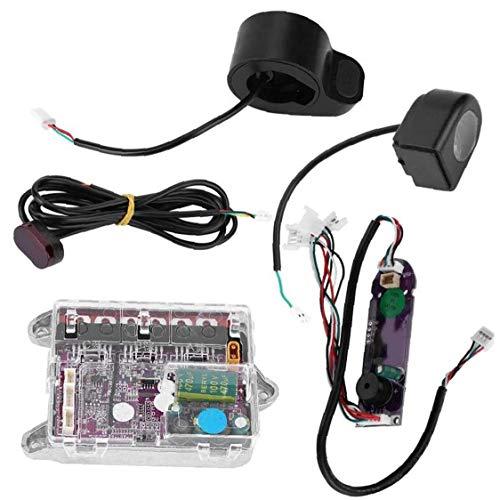 Scooter eléctrico Unidad de potencia BT controlador de la placa base Plantilla de alimentación, para M365 monopatín placa base Vespa Negro