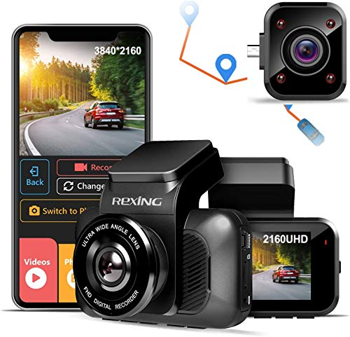 Rexing V5 with Cabin View Camera