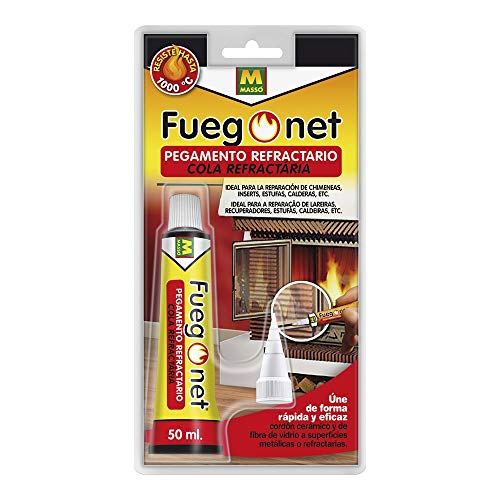 FUEGO NET Fuegonet 231295 Pegamento Refractario